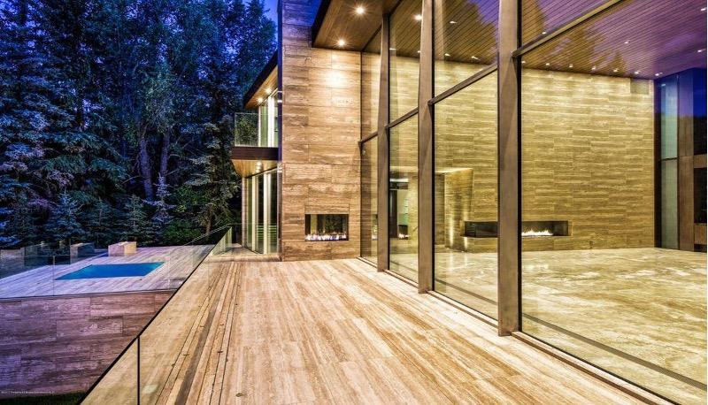 Pinnacle Glass Wood Duck Aspen Project
